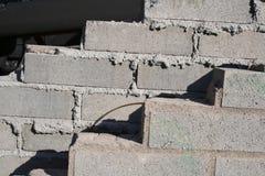 砖放置 免版税库存图片