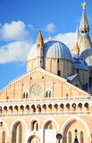 砖教会在帕多瓦 库存图片
