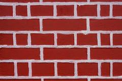 砖新的墙壁 库存照片