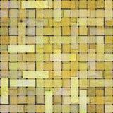 砖方形瓦片黄色 图库摄影