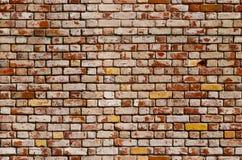 砖无缝的纹理墙壁 免版税库存图片