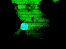砖明暗差别强烈模式 库存照片