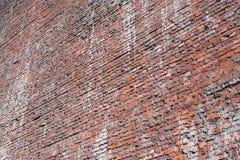 砖构造了老红颜色背景或墙纸  库存照片