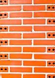 砖格式摆正表墙壁 免版税库存图片