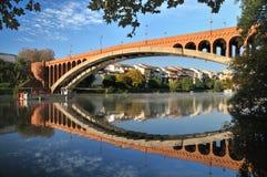 砖桥梁 免版税图库摄影