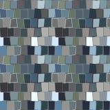 砖模式无缝的墙壁 库存图片
