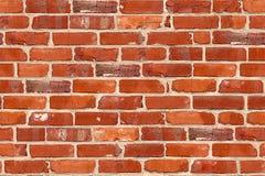 砖模式无缝的墙壁 免版税库存照片