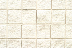 砖模式白色 库存照片
