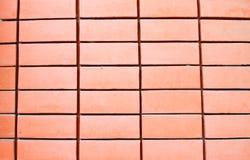 砖模式红色墙壁 免版税库存图片