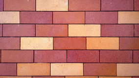砖模式红色墙壁 图库摄影