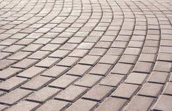 砖步行方式 库存图片