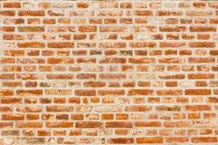 砖深堑侧壁 免版税库存图片