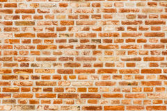 砖深堑侧壁 图库摄影