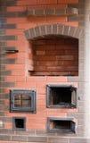 砖火炉 库存照片