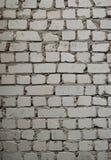 砖灰色苍白纹理墙壁 免版税库存图片