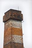 砖烟囱 免版税库存图片