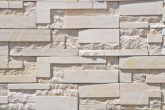砖现代墙壁 免版税图库摄影