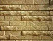 砖现代模式墙壁 免版税库存照片