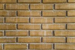 砖现代墙壁 免版税库存图片