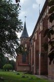 砖瓦房大教堂哥特式海岛加里宁格勒konigsberg预凝胶样式 库存照片