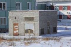 砖瓦房 免版税图库摄影