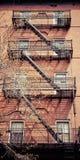 砖瓦房Fascade 免版税库存图片