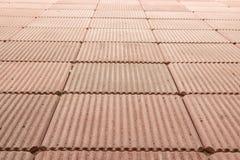 砖的地板 免版税库存图片