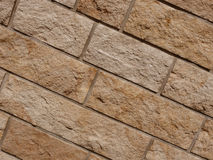 砖石墙 免版税图库摄影