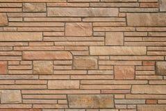砖石纹理墙壁 免版税库存照片