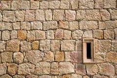 砖砌发射孔 免版税库存图片