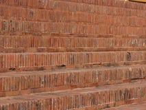 砖砌步 免版税库存照片