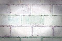 砖砌的纹理 墙壁被做一块大砖 平直的行 与小插图的空白的背景 库存图片
