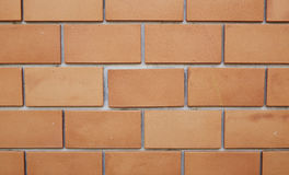 砖简单的墙壁 库存图片