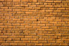 砖粗砺的墙壁 免版税库存照片