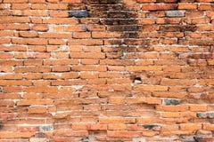 砖红色块 免版税图库摄影