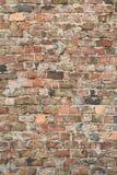 砖红色墙壁 免版税库存照片