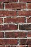 砖红色墙壁 库存照片
