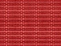 砖红色墙壁 向量例证