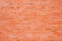 砖红色纹理墙壁 库存图片