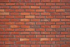 砖红色纹理墙壁 免版税库存图片