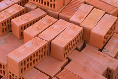 砖红色 库存图片