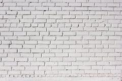 砖纹理墙壁白色 都市城市背景 库存图片