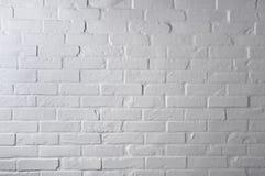 砖纹理墙壁白色 库存图片