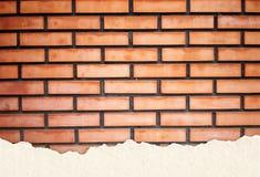 砖纹理墙壁 免版税库存照片