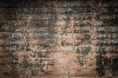 砖老墙壁 免版税库存图片