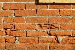 砖老墙壁 库存照片