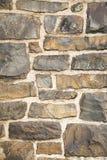 砖老石墙 免版税库存照片