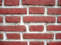砖老红色墙壁 库存图片