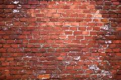 砖老红色结构墙壁 免版税库存照片