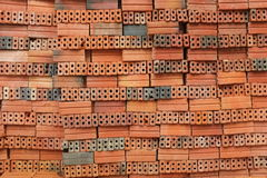 砖老红色 免版税库存图片
